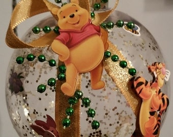 Winnie the Pooh Christmas Ornament with Tigger & Piglet