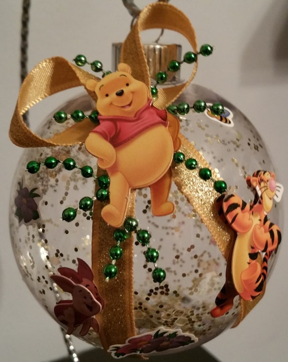 Winnie the Pooh Christmas Ornament with Tigger & by ...