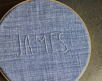 Customized embroidered decor + FREE SHIPPING in US