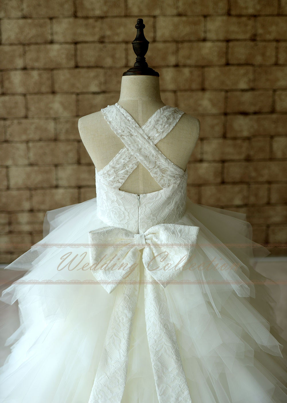 flower girl dress lace - photo #14