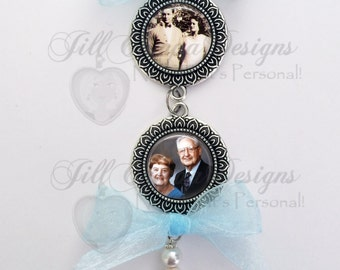 Memorial Bridal Bouquet Charms, WEDDING BOUQUET CHARMS, Bridal Bouquet memorial photo, Custom Photo Wedding Bouquet Charm,wedding charm