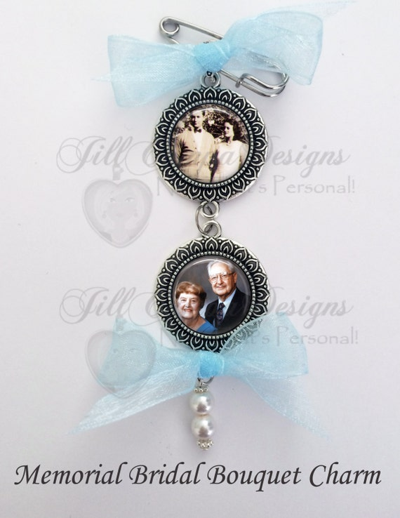 memorial bridal bouquet charms wedding bouquet charms bridal bouquet