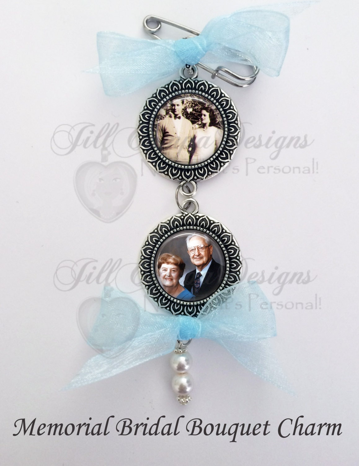 memorial bridal bouquet charms wedding bouquet charms bridal