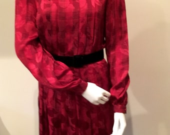 Oscar De La Renta Silk Blouse and Skirt