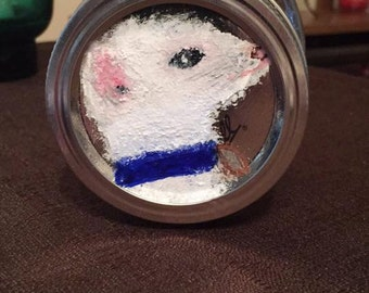 Ferret Treat Mason Jar 160z