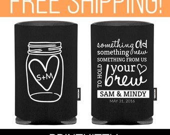 personalized koozies beer koozies funny koozie custom koozie wedding koozie wedding favor koozie 2