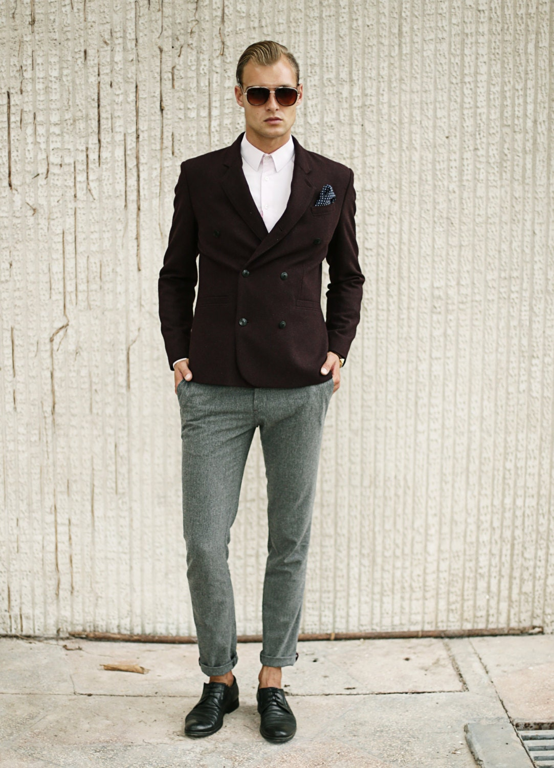 Wool Pants. When shopping for suit separates—for men and women—you can't go wrong with a solid pair of wool pants. Appropriate for the office and for dressier events, these pants are a wardrobe staple and a great investment for any closet.