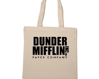 Dunder Mifflin Cotton Tote Bag
