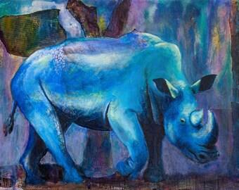 Purple Rhino Etsy