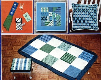Guide to Charted Needlepoint Designs by Barbara Hunter - Leisure Arts Leaflet 51 | Craft Leaflet