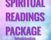 PACKAGE 3 Spiritual Readings Tarot & Oracle In Live VIDEO and Jpg