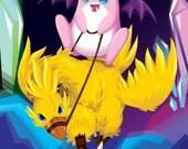 "9x13"" Final Fantasy VII x Pokemon Print featured image"