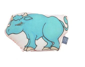 Babe the Blue Ox Plush Medium Accent Pillow Softie Toy Doll Stuffed Animal