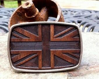 Belt Buckle: Union Jack