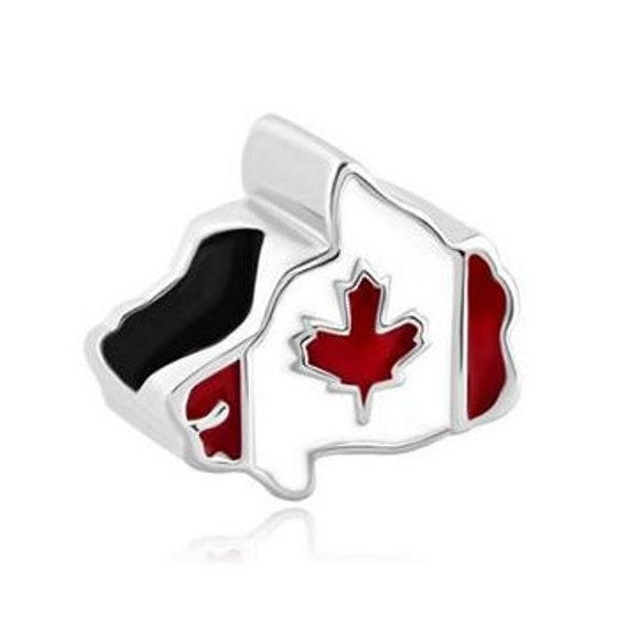 Pandora Earrings Canada: Canada Bead Canada Charm Large Hole Bead European Bead