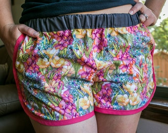 Playful Cotton Shorts Great for Everything | Women and Girl's Sizes Available