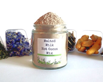 Malted Milk Drinking Chocolate Hot Cocoa Mix Foodie Gift