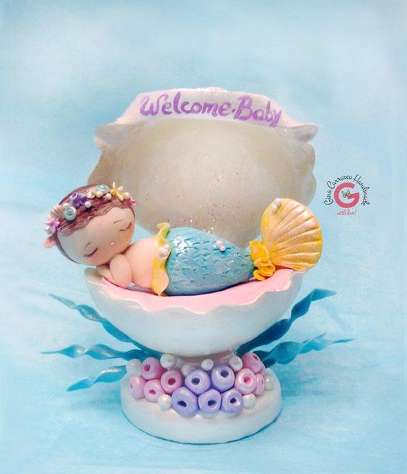 baby shower cake topper mermaid baby shower theme mermaid cake baby