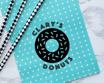 Donut Stamp, Wedding Favor Stamp, Style No. 54W