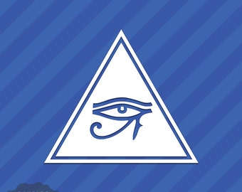 Egyptian Eye Triangle | www.pixshark.com - Images ... Eye Of Horus In Triangle
