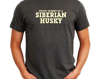 Proud Parent Of Siberian Husky T-Shirt