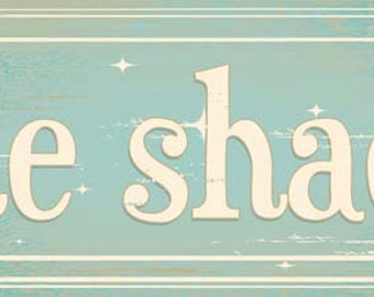 She Shack Metal Sign, Woman Cave, She Shed, Rustic Décor  HB7678