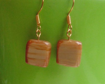 Glass bead Earrings - Three Designs