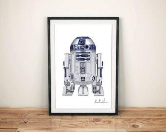 A012: R2-D2 Star Wars Robot