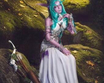 Custom made elven cosplay set