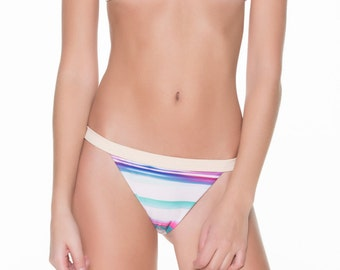 Over The Shoulder Bikini with Banded Bottom