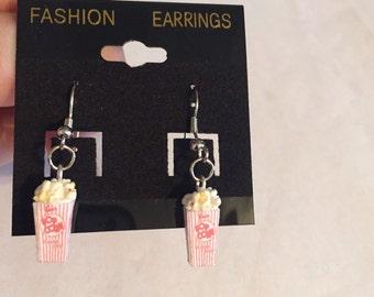 Mini Popcorn Earrings!!!