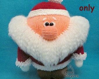 Little Santa, amigurumi knitting pattern