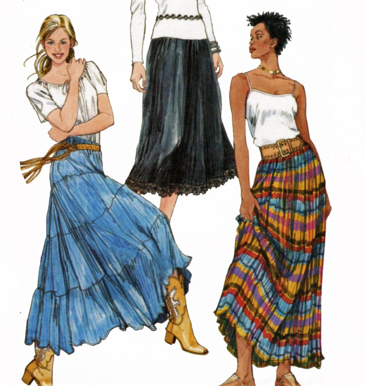 Black Broom Skirt 22