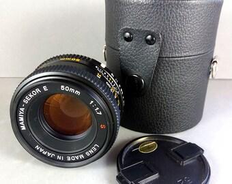 Mamiya Sekor E 50mm f/1.7 S FAST Normal Lens for Z series cameras