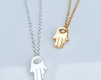 Hand of Hamsa Necklace
