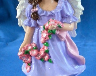 Angel Figurine in Lavender