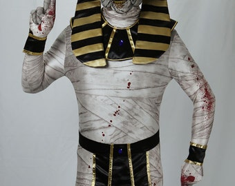 Cursed Mummy Costume Set - 4 pc