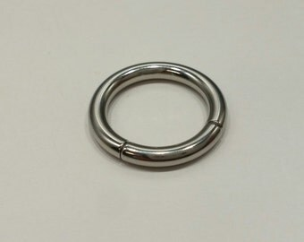 10G Stainless Steel Captive Segment Ring 13mm