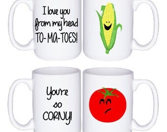 Couples Gift - His and Hers Mugs - Gifts For Couple - Coffee Cup - Couples Mug Set - Cute Gift Idea - Funny Coffee Cups - Engagement Gift