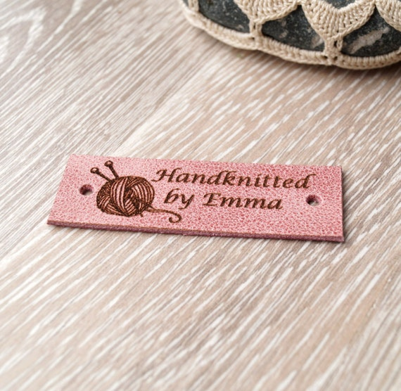 personalized labels for handmade items personalized labels custom clothing labels leather labels 7063
