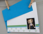 Personalized Photo Notecards - Playful Pal - Set of 12 // Custom Photo Notecards // Personalized Photo Stationery