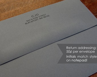 Envelope add-on for Simply Stated Notepad