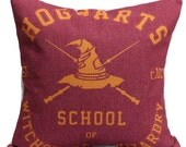 Linen Cover | Hogwarts School of Witchcraft and Wizardry | Harry Potter