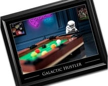 Man Cave Decor Billiards Pool Table Star Wars Gifts