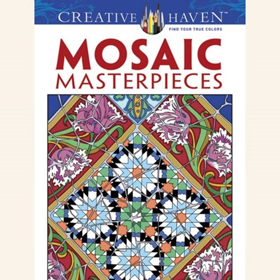 mosaic masterpiece coloring pages - photo#34