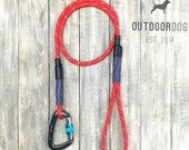 4ft-Red climbing rope dog leash