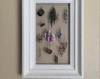 Earring Organizer - Necklace Organizer - Jewelry Organizer - Jewelry Storage - Necklace Storage - Accessory Organizer - Accessory Storage