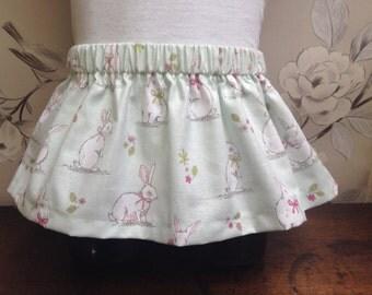 Bunny Rabbit Skirt - Handmade Bunny Rabbit Child's Skirt