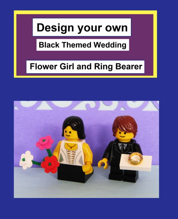 New Design Your Own Lego Flower Girl And Ring