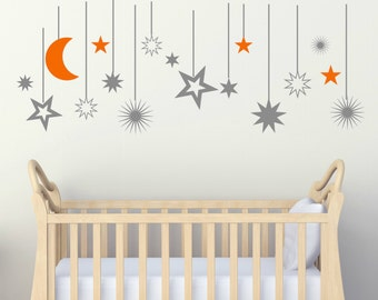 Stars Wall Decal   Etsy